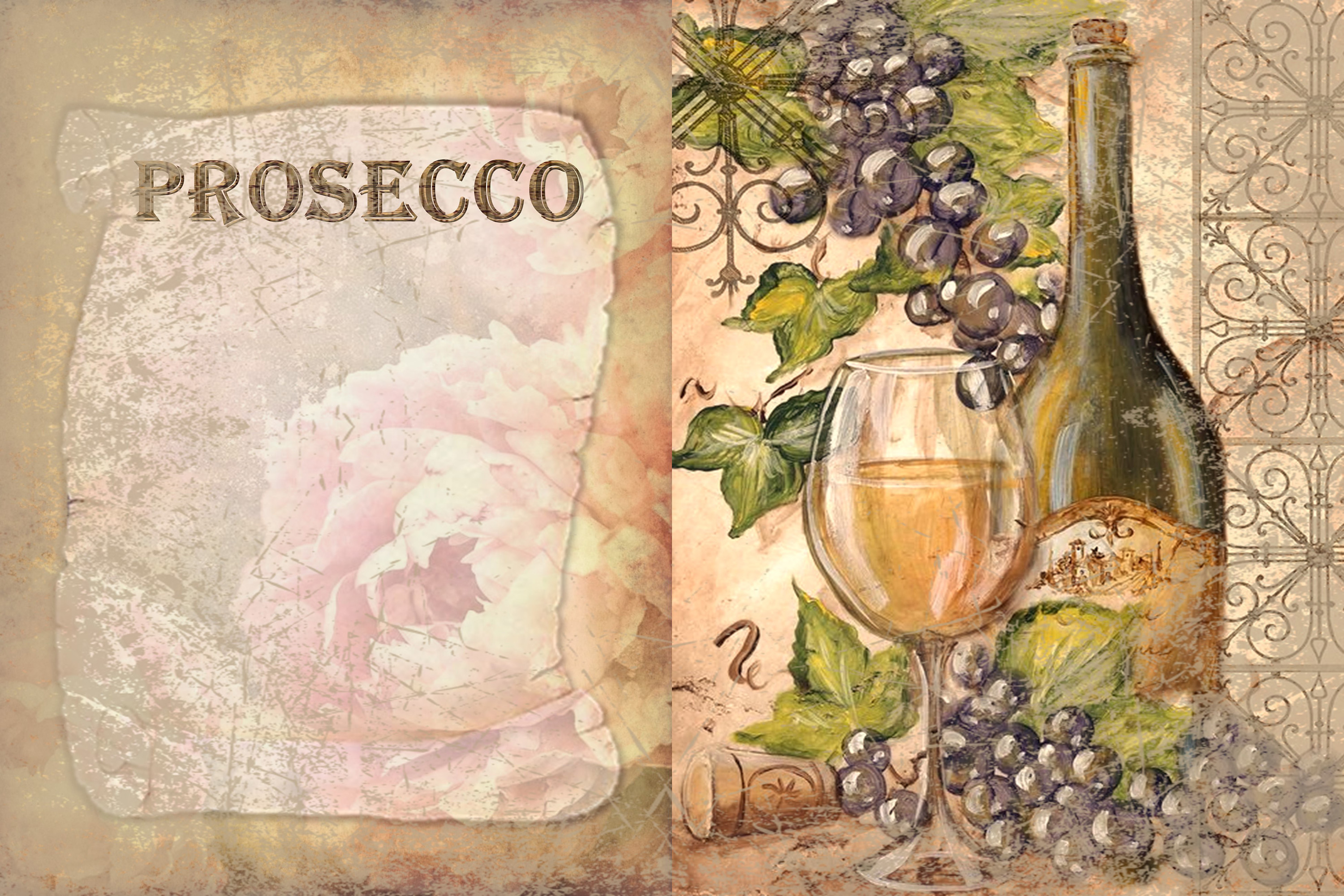 10 Wine Journaling backgrounds printable commercial use example image 4