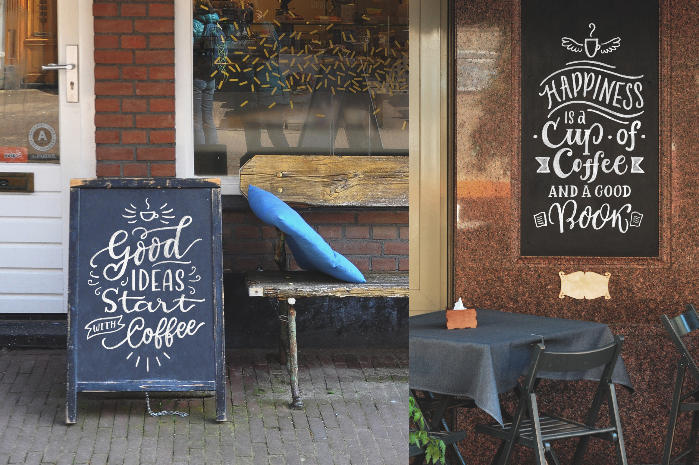Coffee Chalk Letterings example image 4
