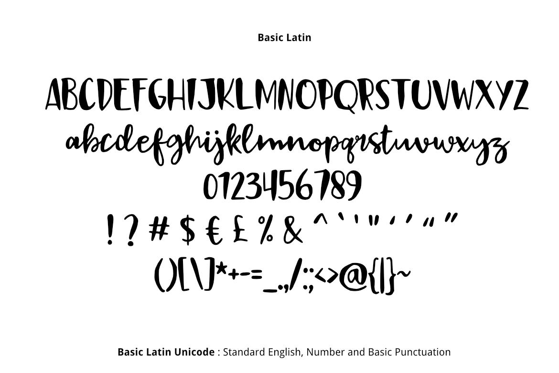 Black Sail Brush Font example image 2