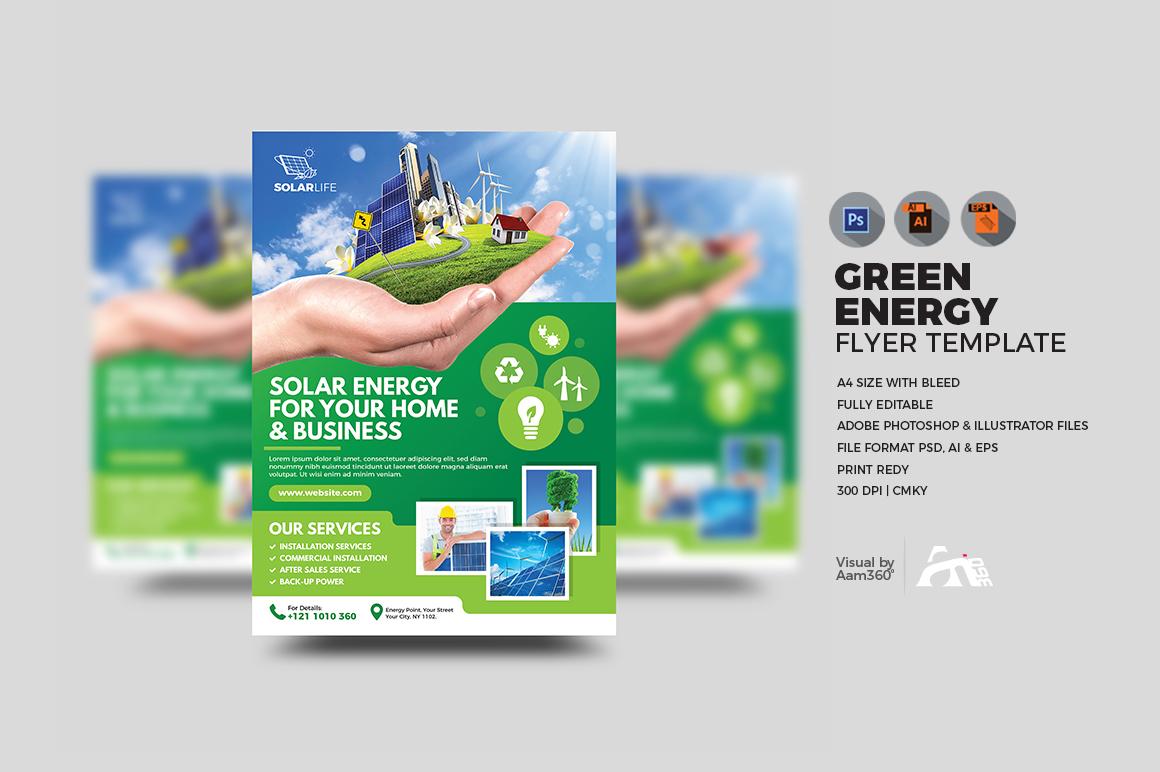 Green Energy Flyer example image 1