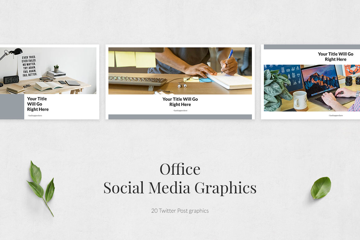 Office Twitter Posts example image 2
