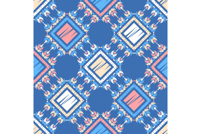 Ethnic boho ornament. Set of 10 seamless patterns. example image 3