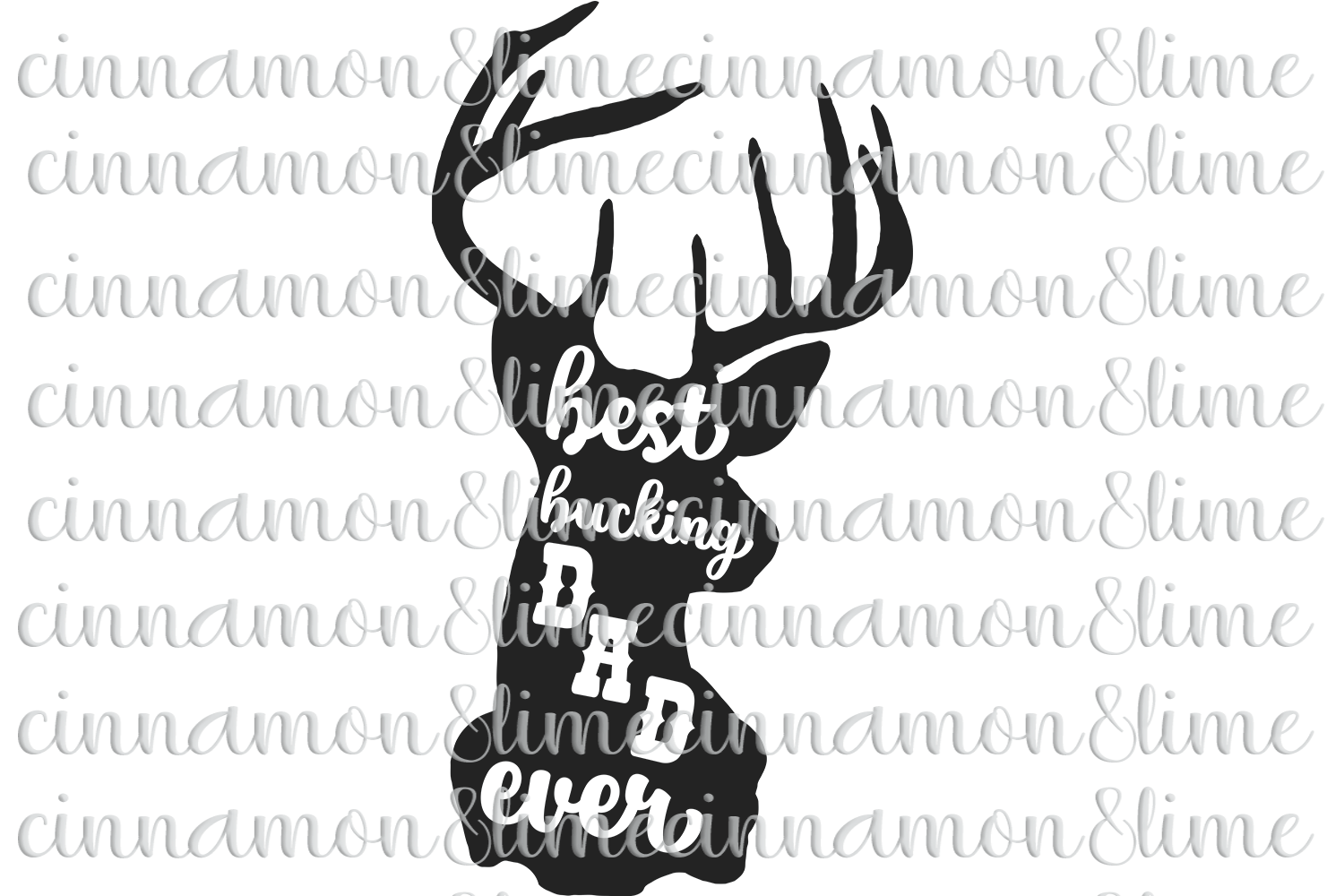 Best Bucking Dad Ever SVG example image 1