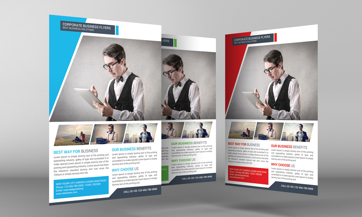 Corporate Business Flyer example image 3