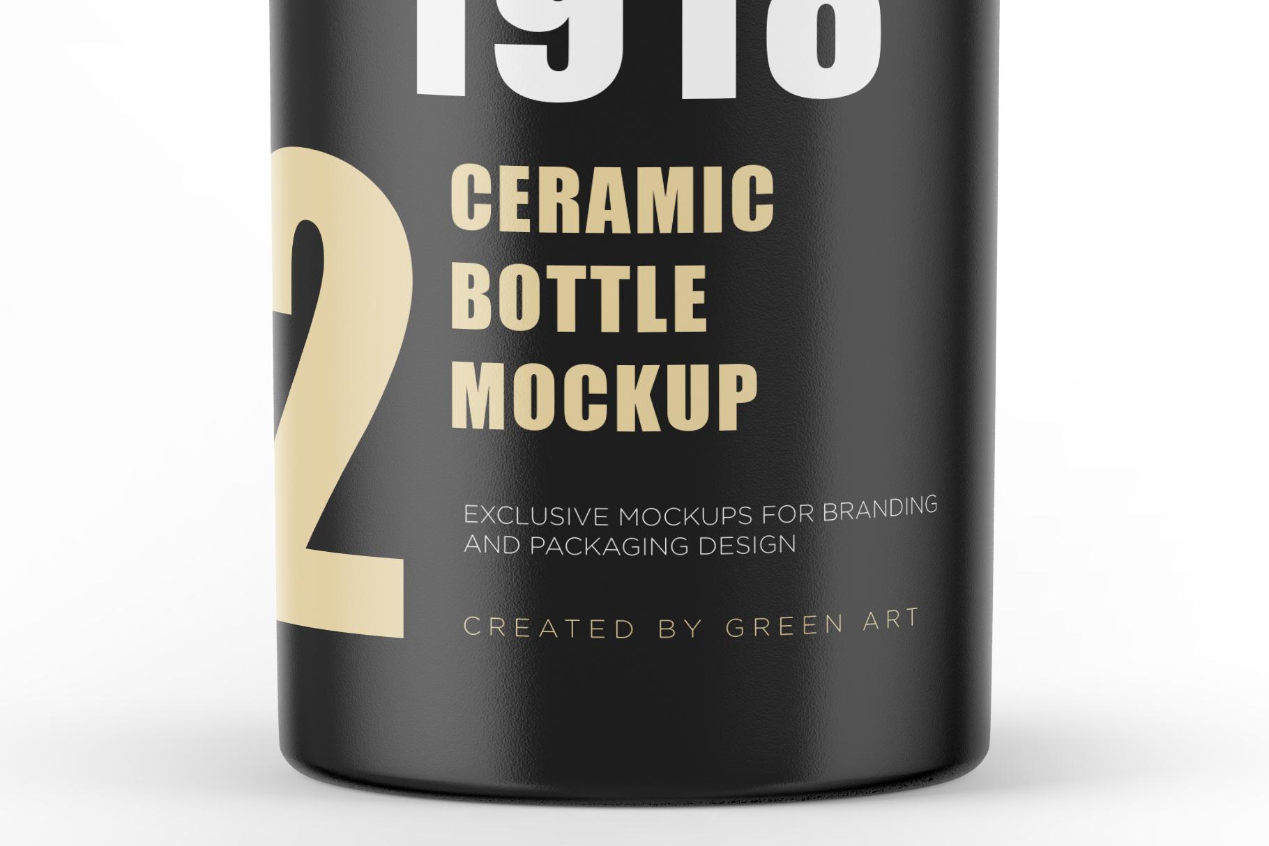 Ceramic Bottle Mockup example image 6