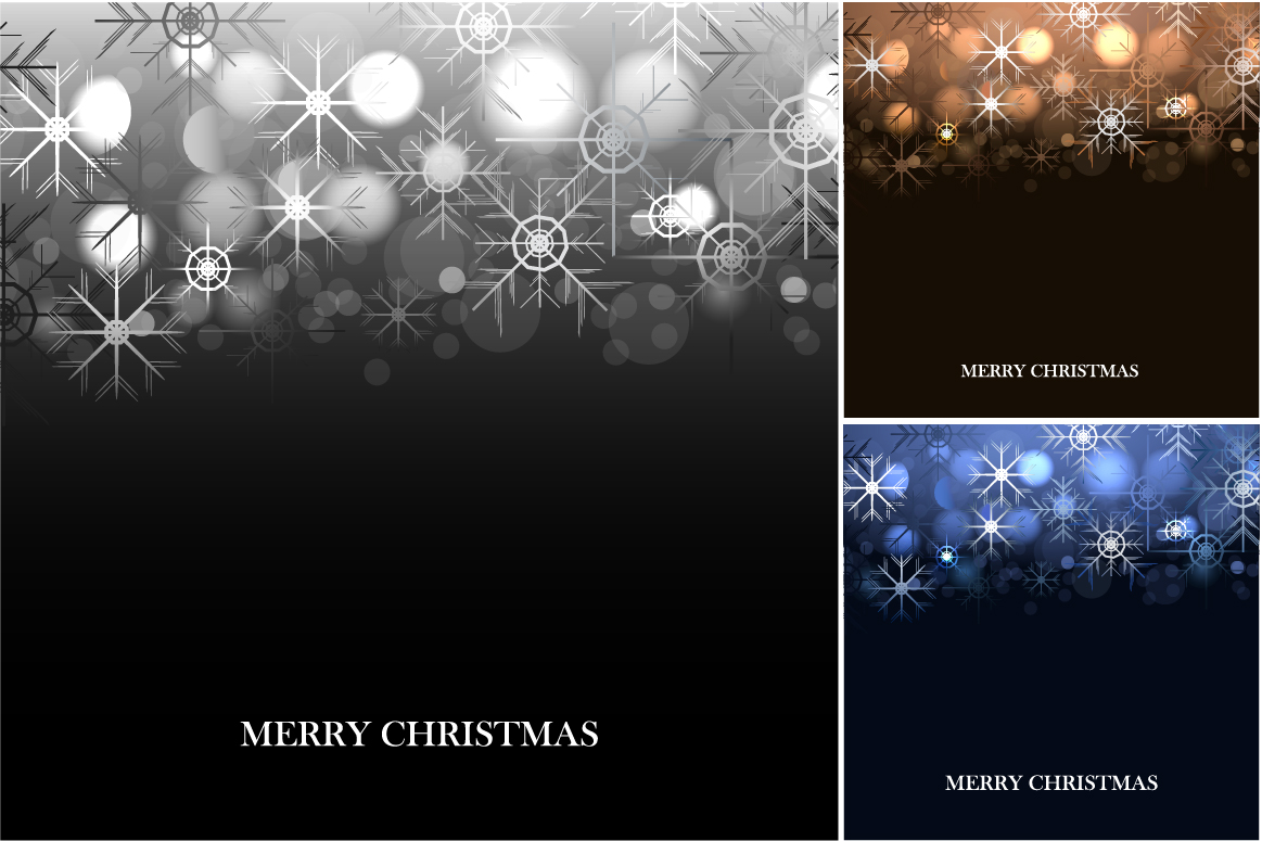 Merry Christmas Backgrounds. example image 2