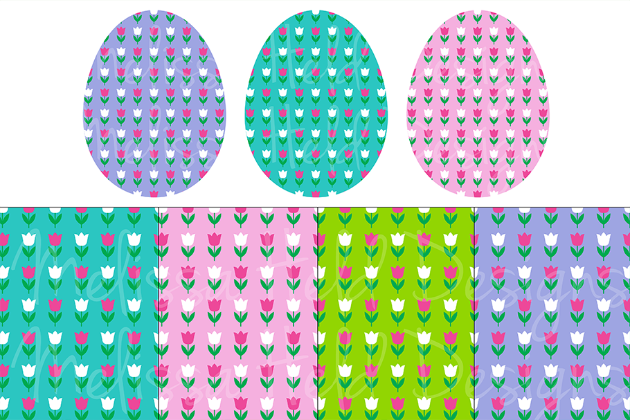 Easter Eggs & Patterns example image 5