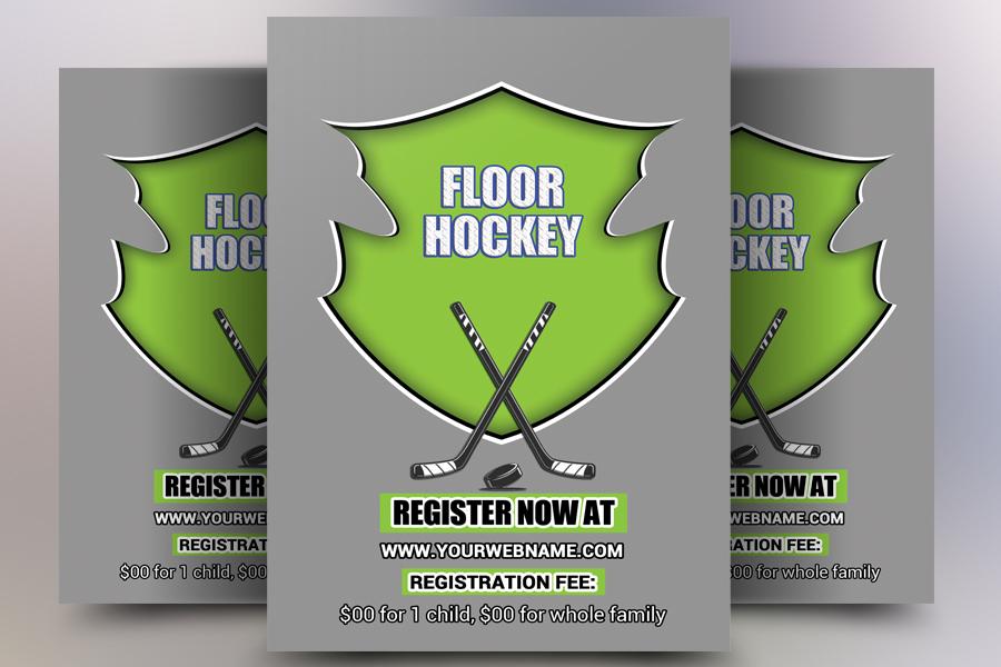 Ice Hockey Flyer example image 1