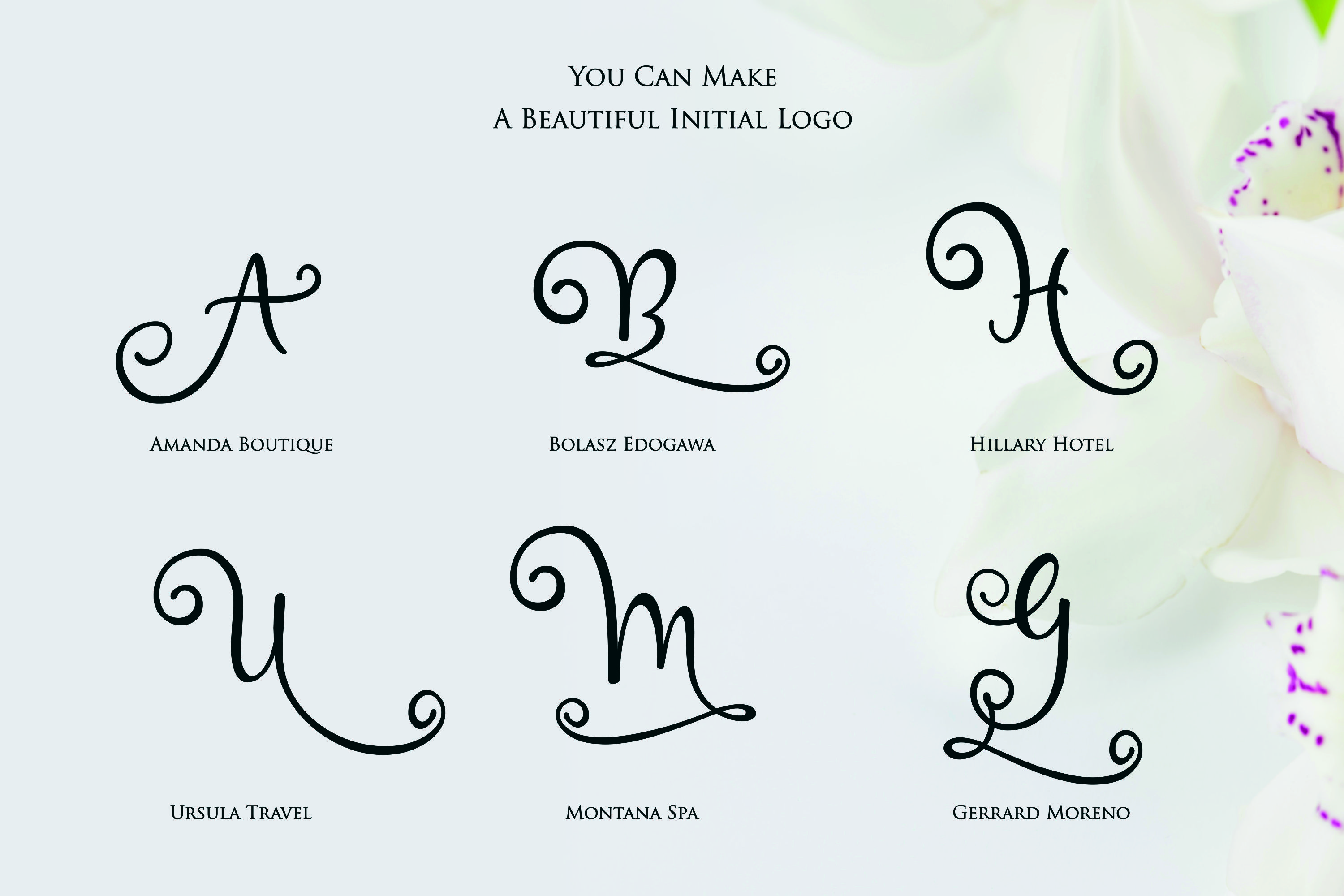Hai Butterfly Font Duo and 500 Vectors example image 13