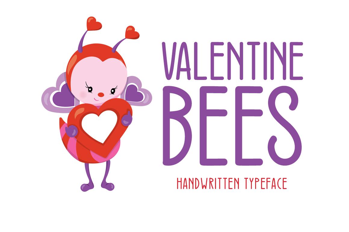 Valentine Bees example image 1