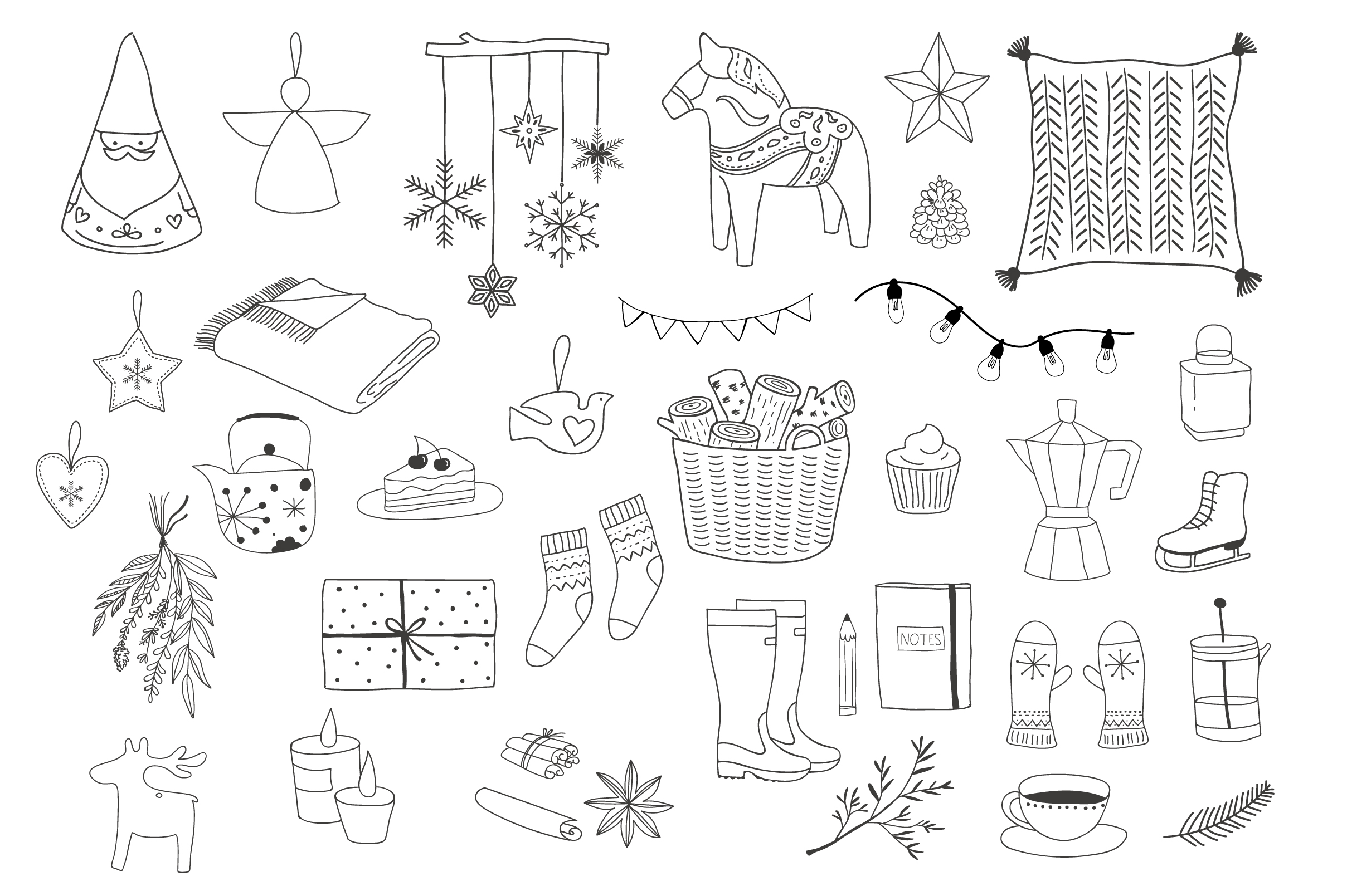 Nordic Christmas - winter collection example image 8