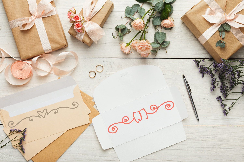 Garnish - A Fancy Flourish and Monogram Font example image 5