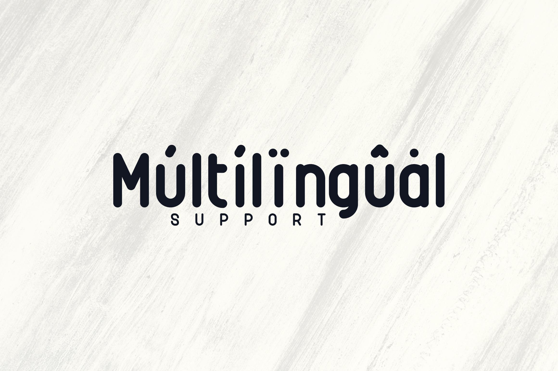Rimini-Rounded Sans Serif font example image 8
