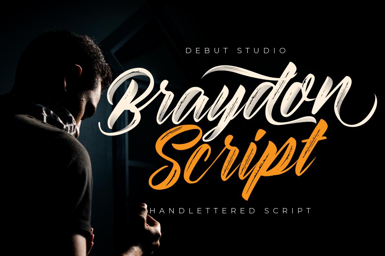 Braydon Script example image 1