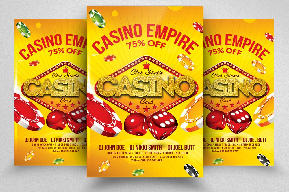 10 Casino Flyers Bundle example image 4