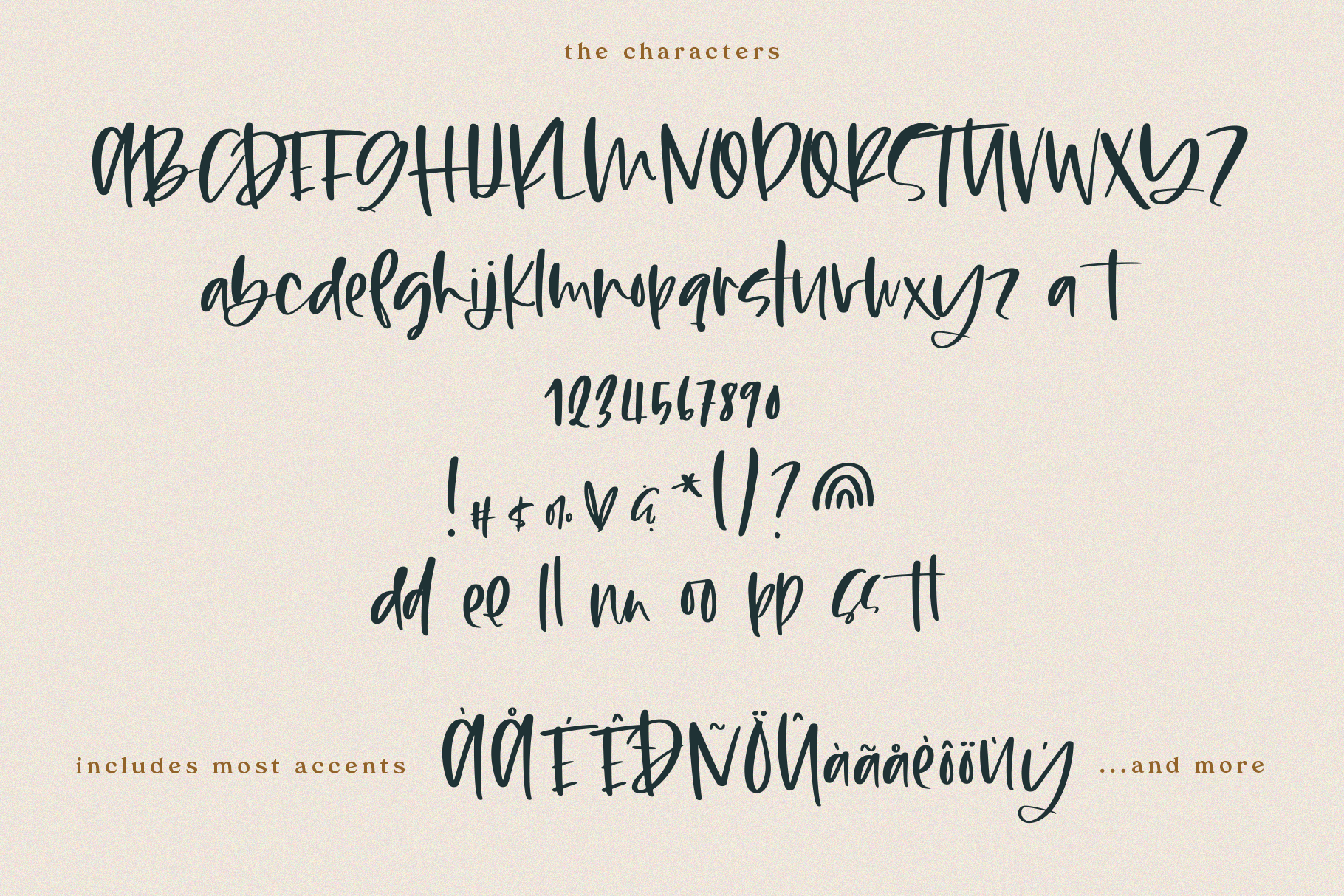 Maybe - Script Font with Doodles example image 15