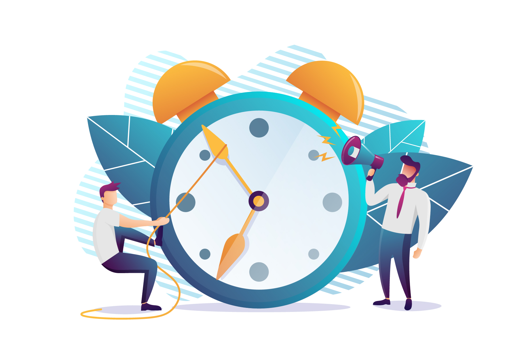 Concept of working time management example image 1