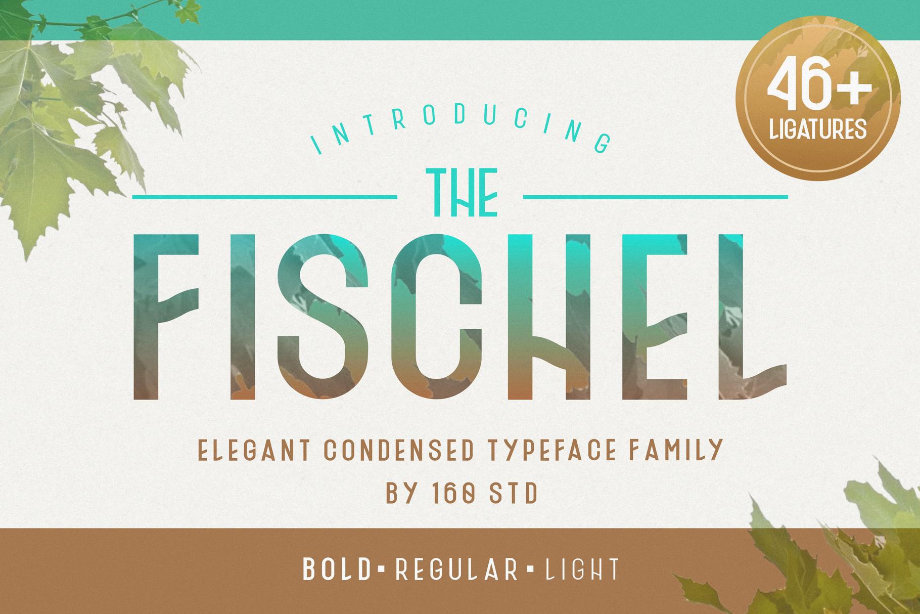 Fischel Elegant Condensed Family example image 1