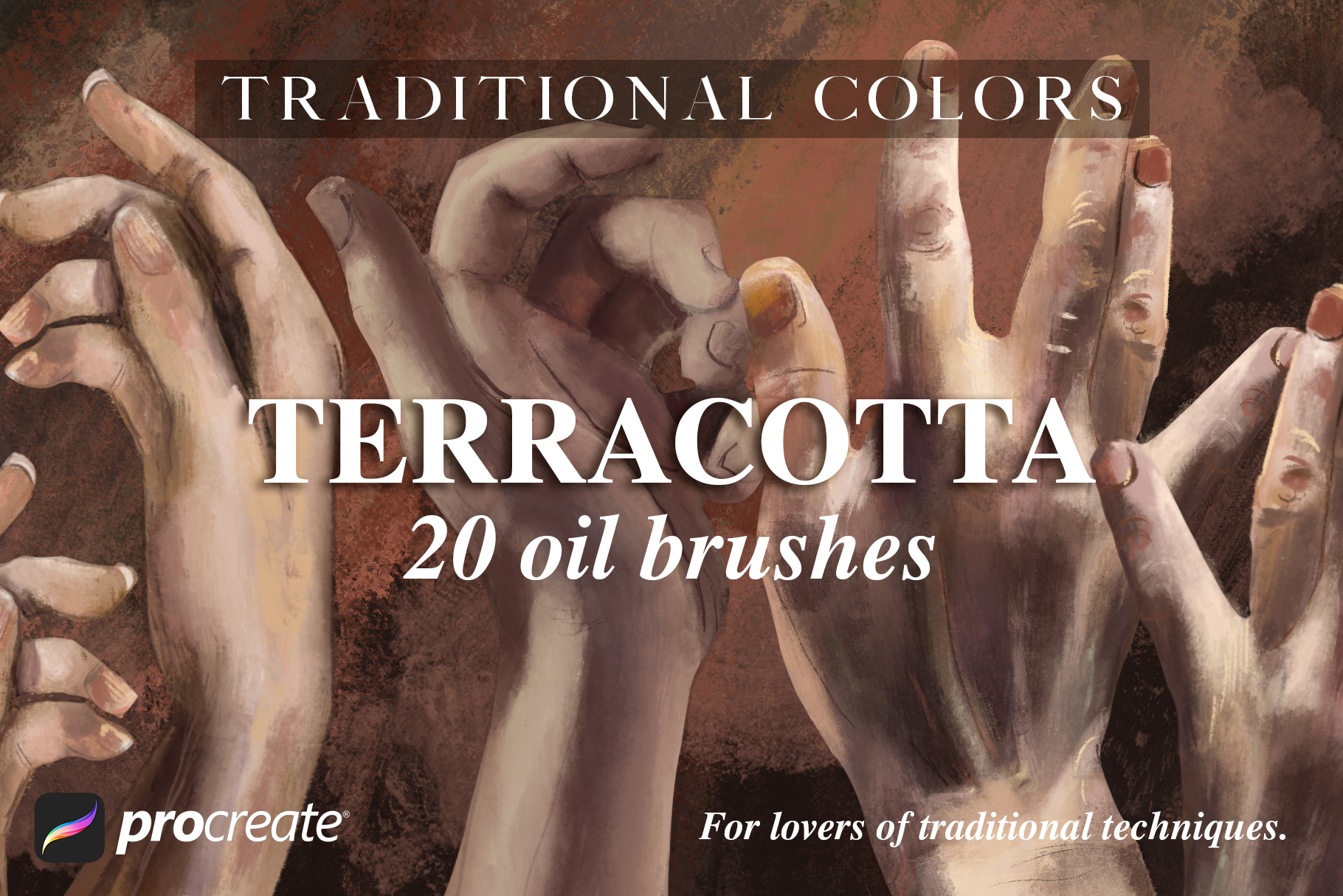 Traditional Colors Terracotta Oil example image 1