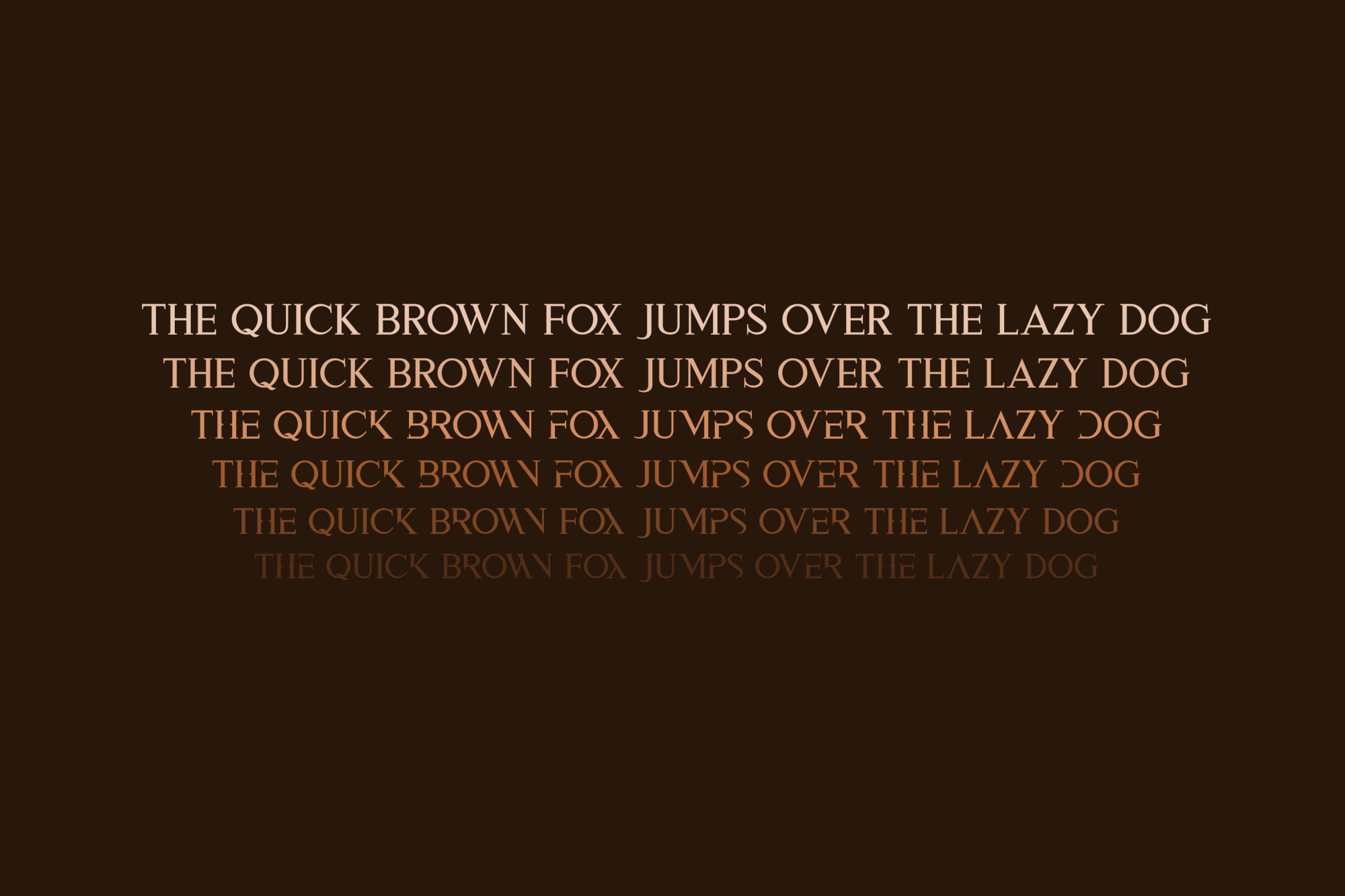 Aspal Typeface Font example image 5