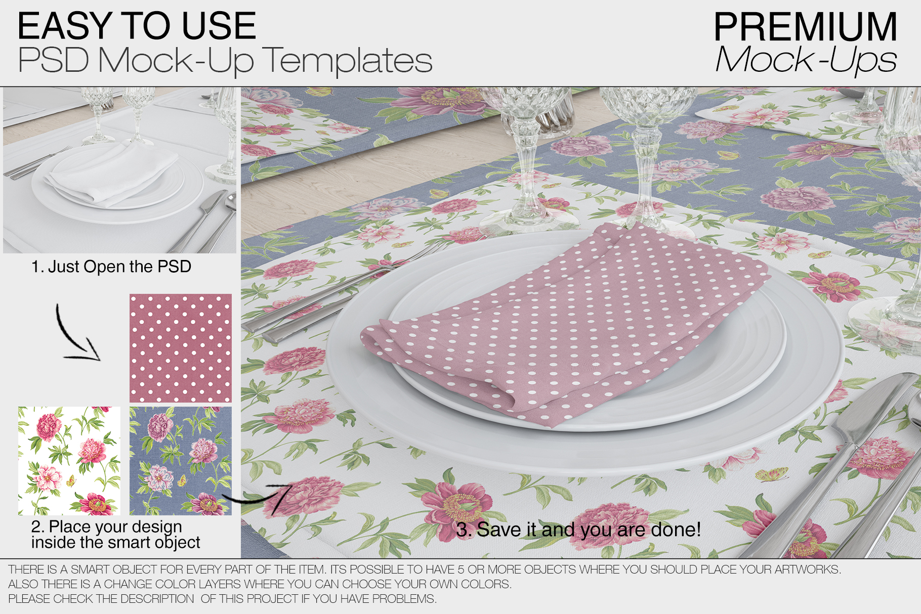 Tablecloth, Runner, Napkins & Plates example image 4