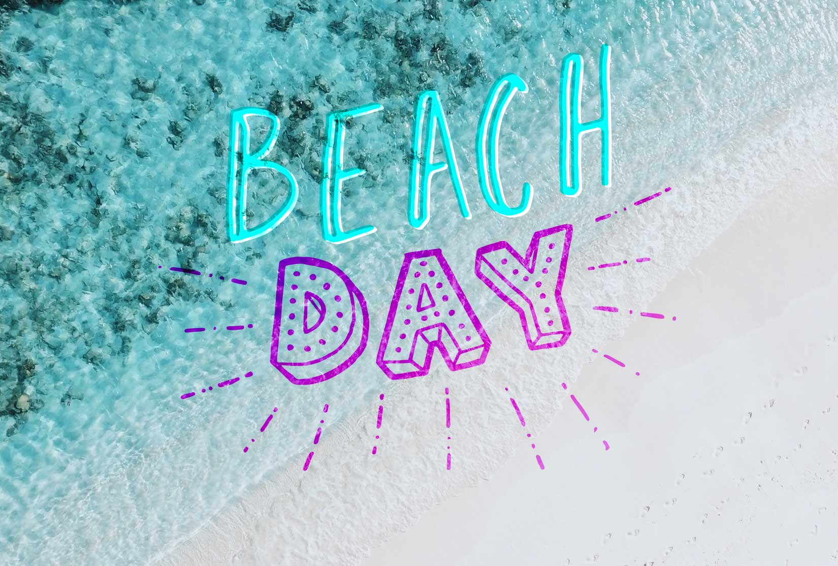 Summer Fun Lettering Pack example image 5