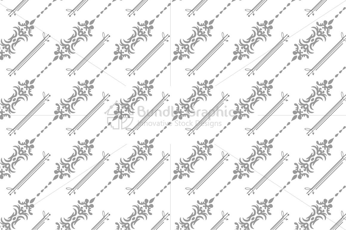Decorative Seamless background example image 2