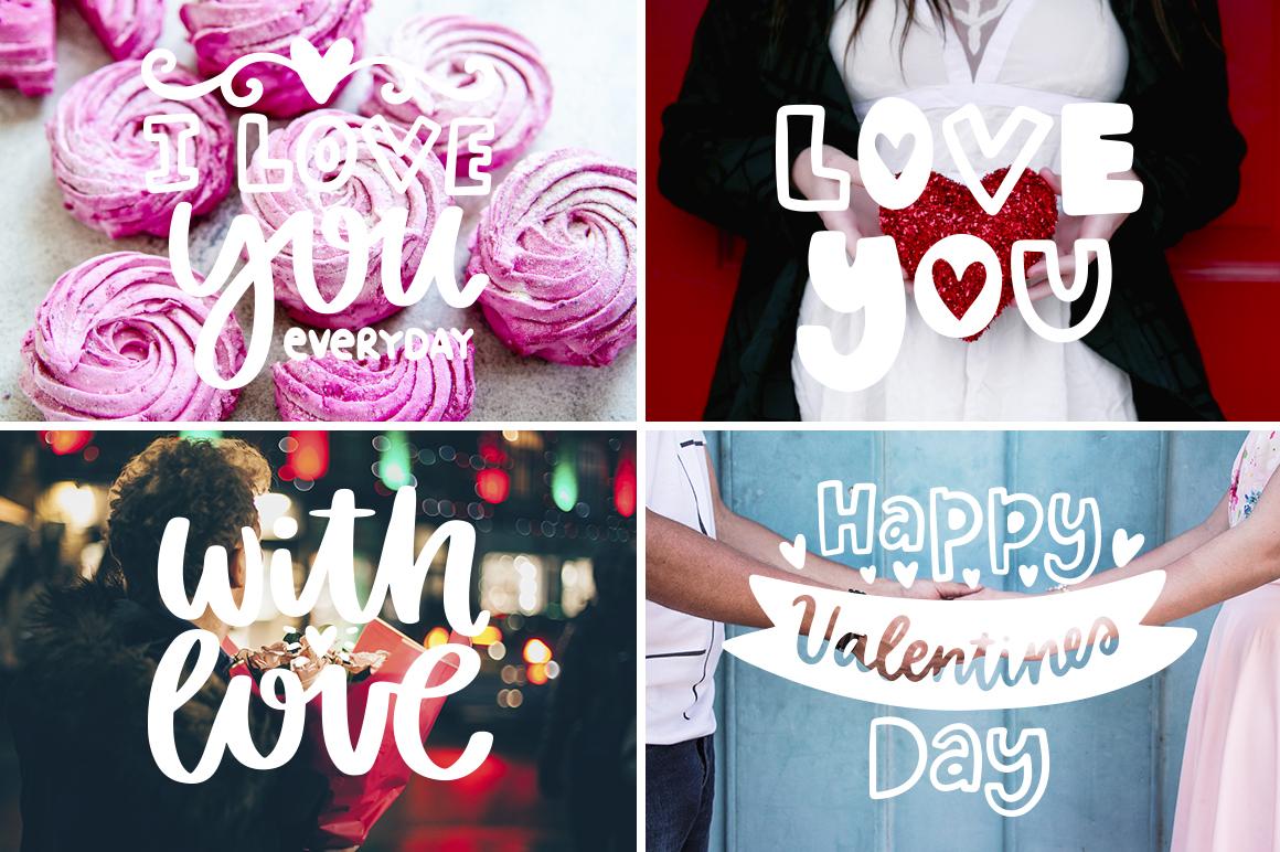 30 Valentine's Day Overlays! example image 3