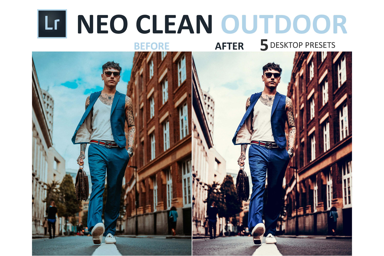 Neo Clean Outdoor Desktop Lightroom Presets example image 3