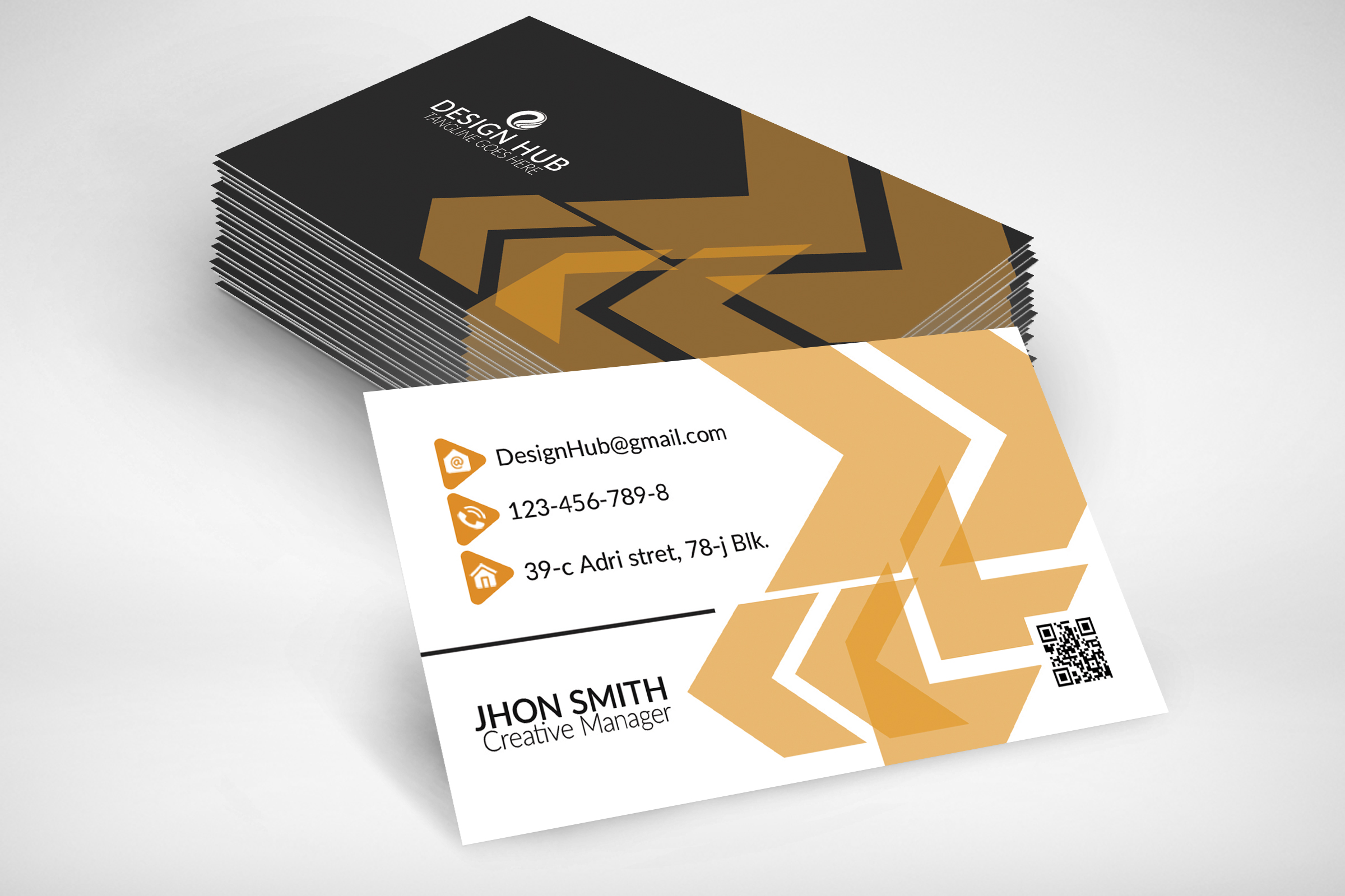 Abstract Business Card example image 2