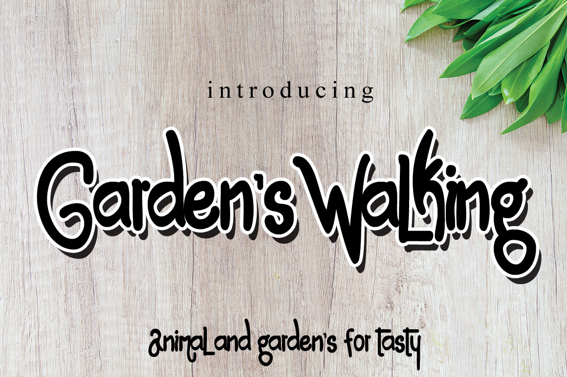 Garden's Walking example image 3