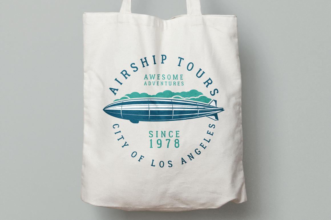 Airship Tours Logo Template example image 3