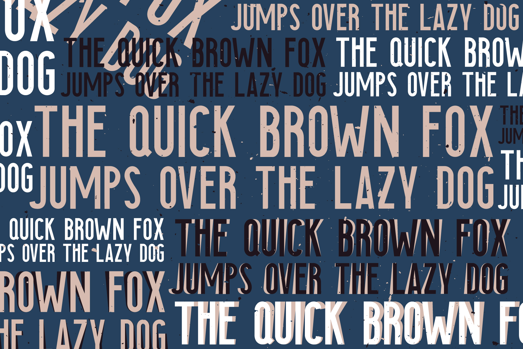 Searocks | A clean condensed font example image 6