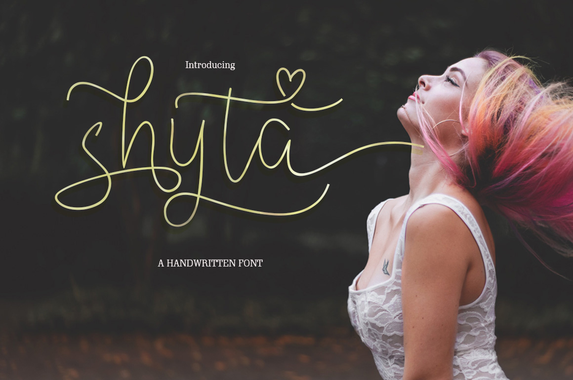 Shyta Script example image 1