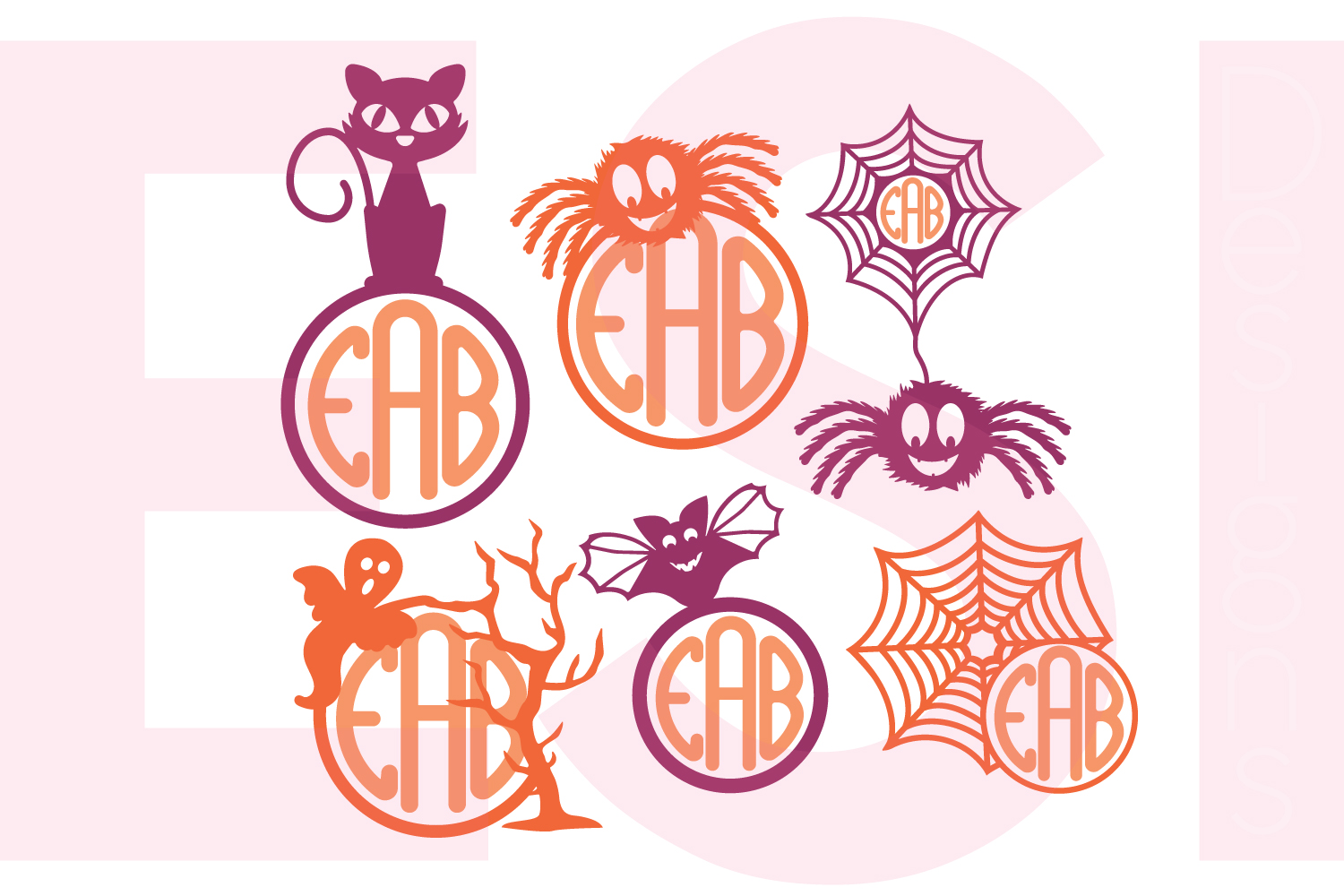 Halloween and Fall Designs Bundle -SVG DXF EPS & PNG example image 22