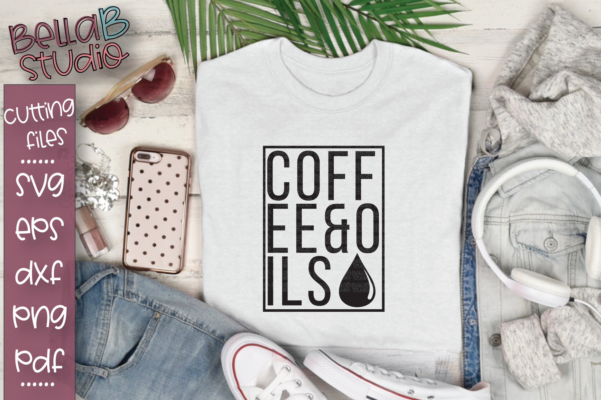 Essential Oils SVG, Coffee and Oils SVG example image 1