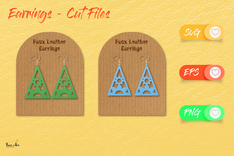 5 Earrings - Mini Bundle - Cut files example image 13