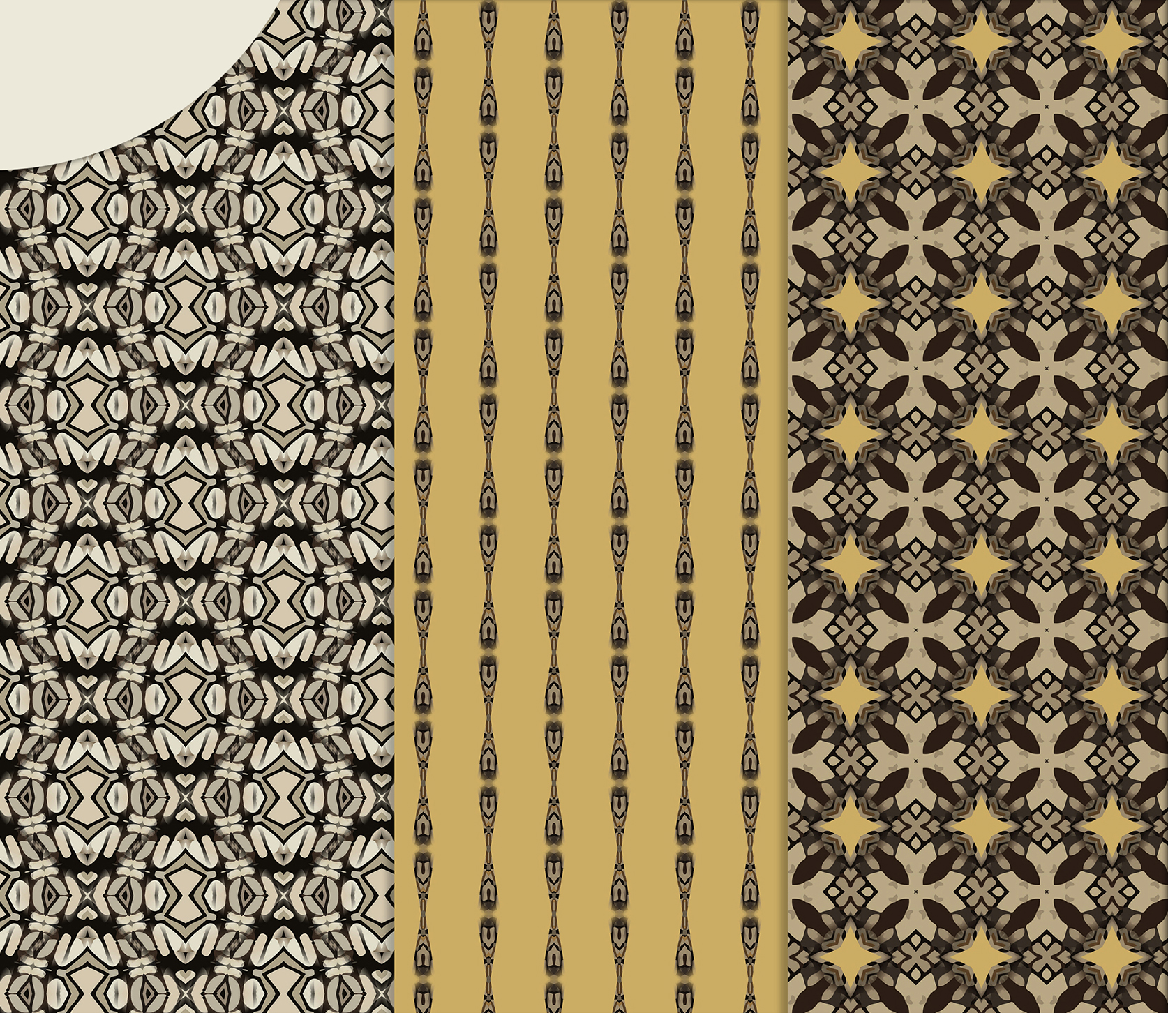 Sand-gray abstract and geometrical masculine Scrapbook Paper example image 2