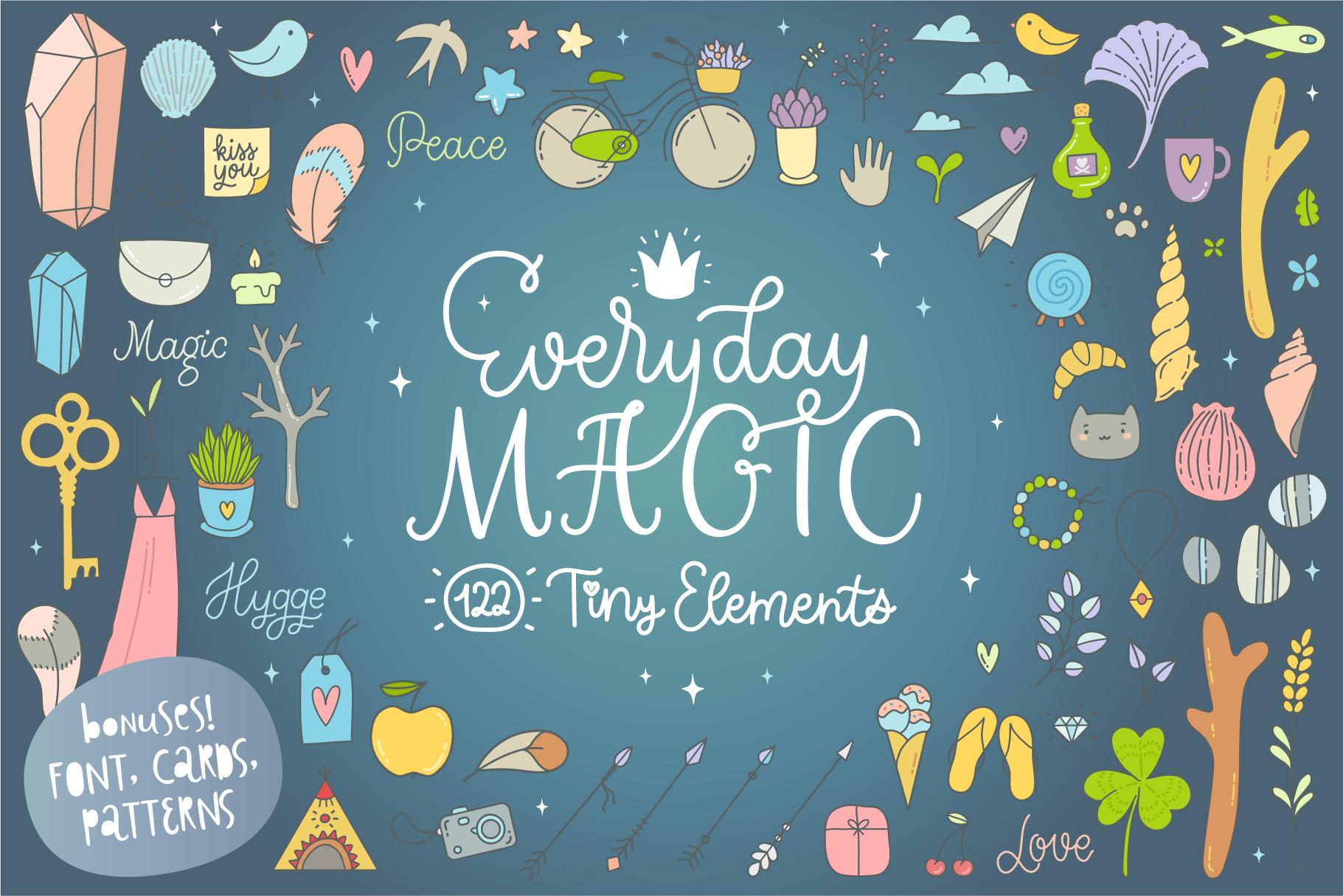 Everyday Magic Vectors and BONUSES example image 1