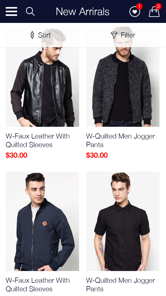 Zalora Shopping UI for e-commerce example image 22