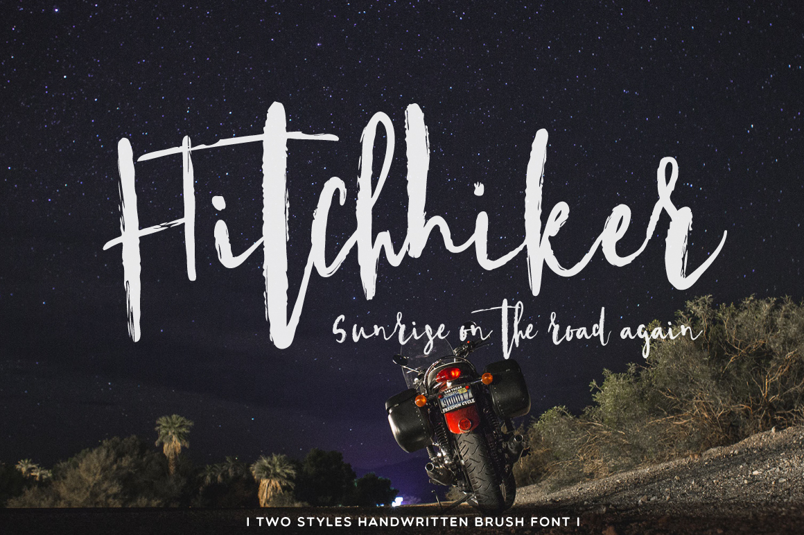 Hitchhiker Font example image 1