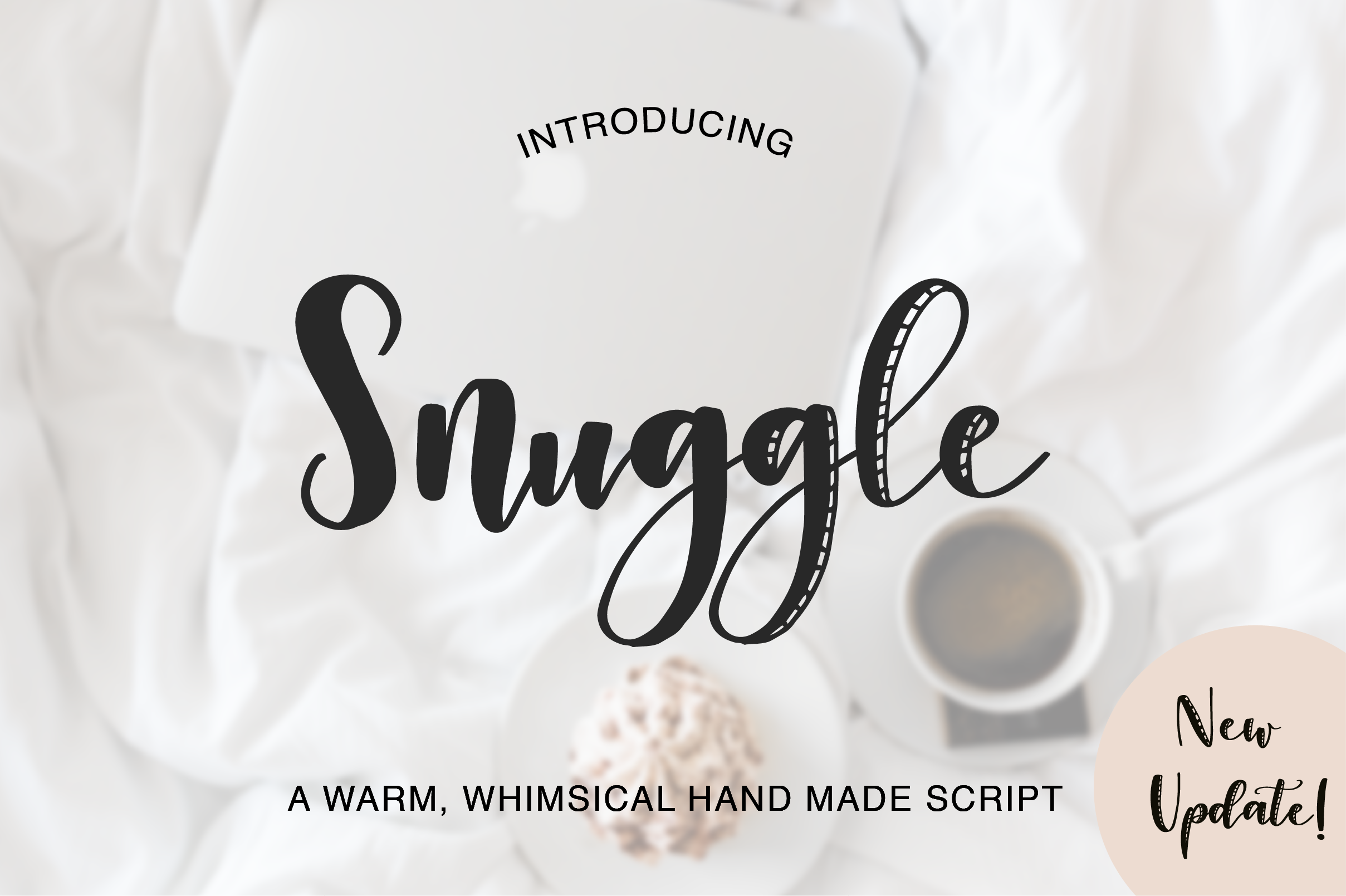 Snuggle Font example image 1