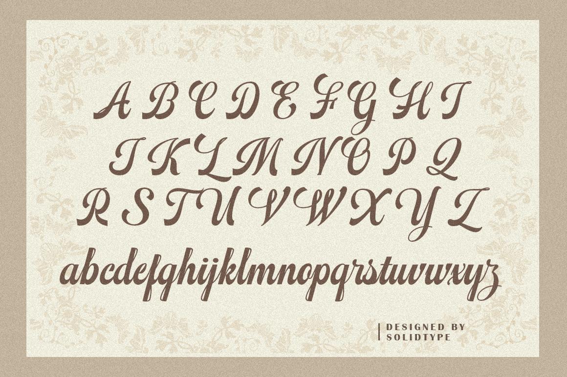 Mathovia Script example image 6