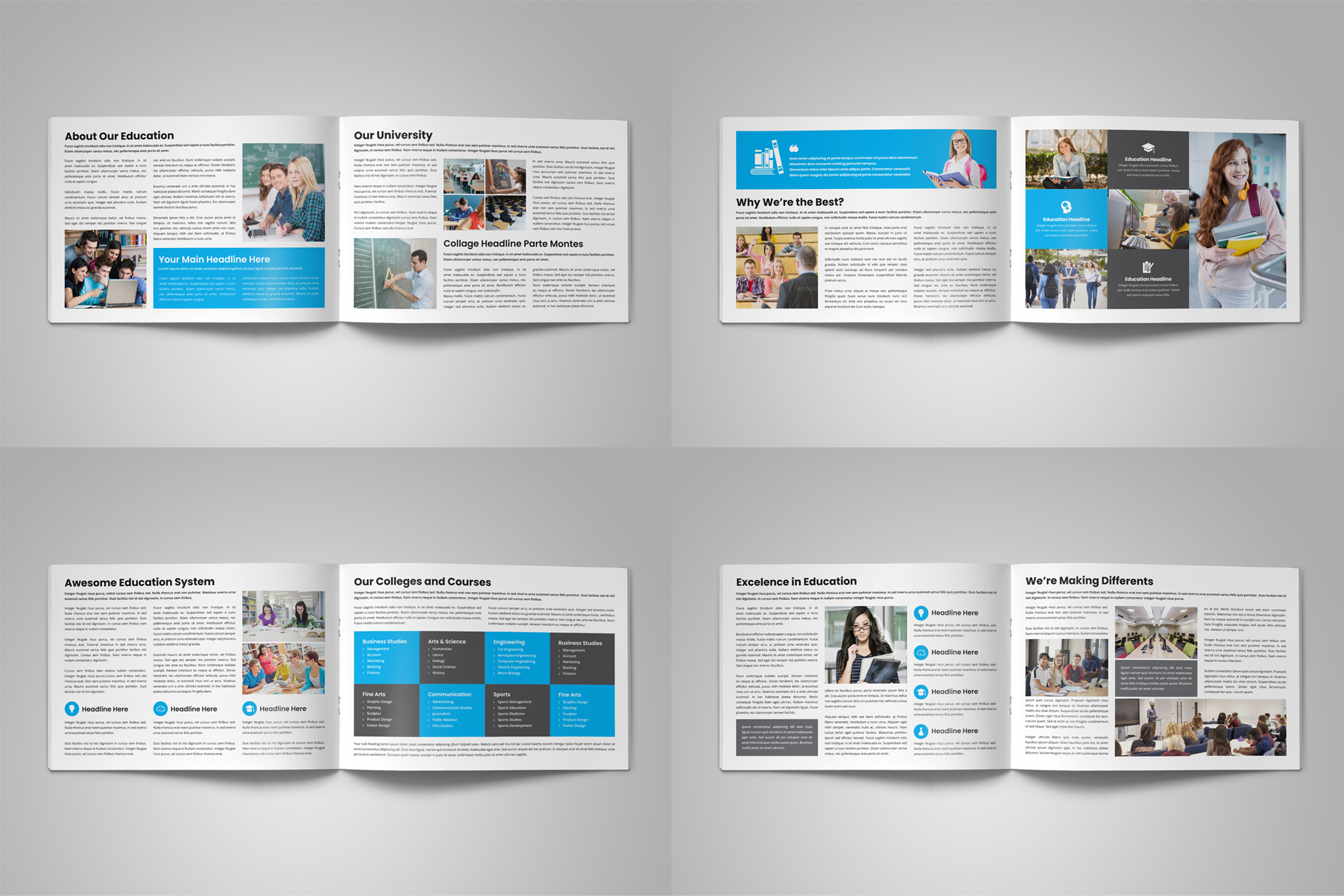 Education Prospectus Brochure v6 example image 13