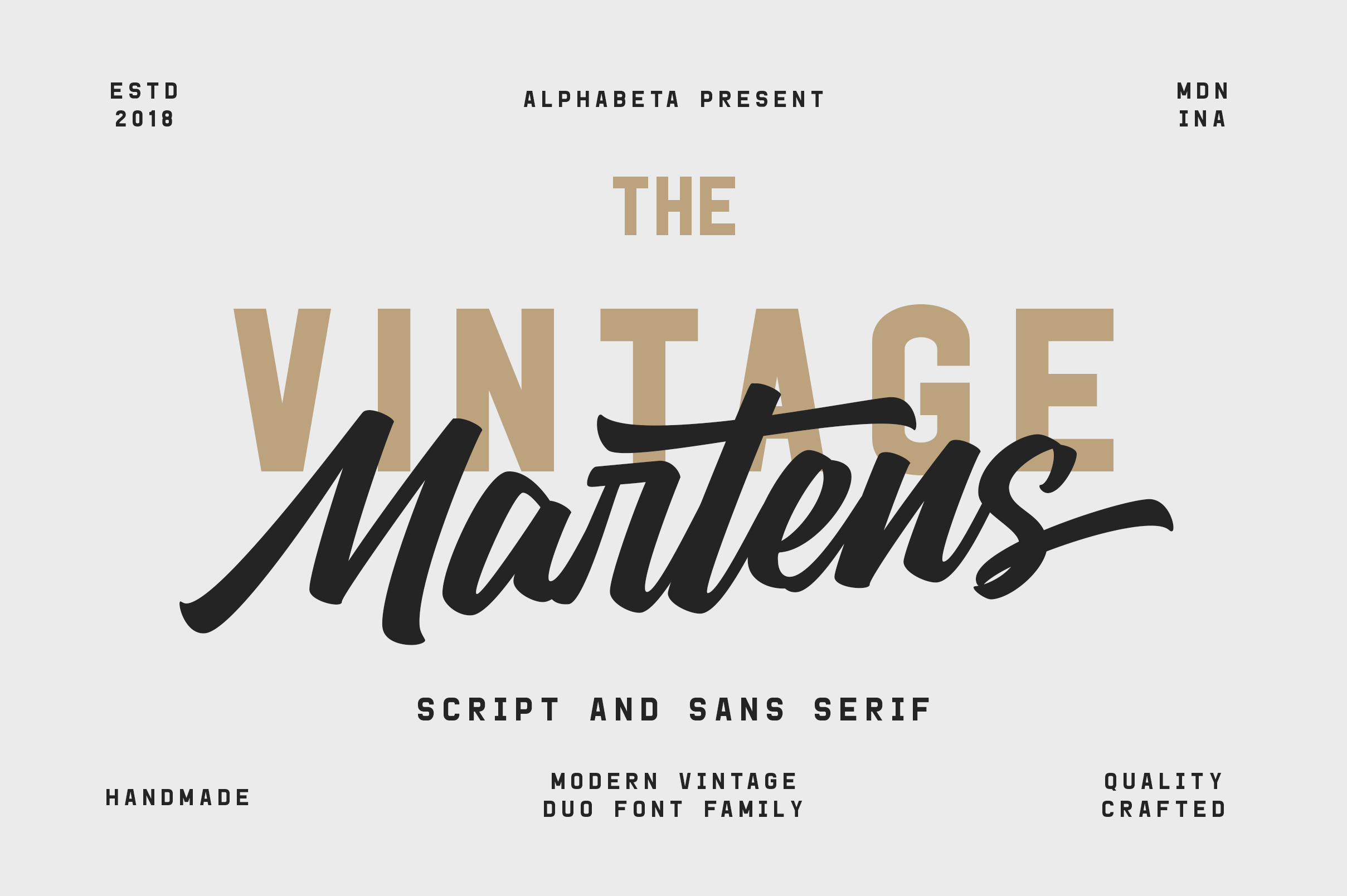 Martens Script | Duo Font example image 1