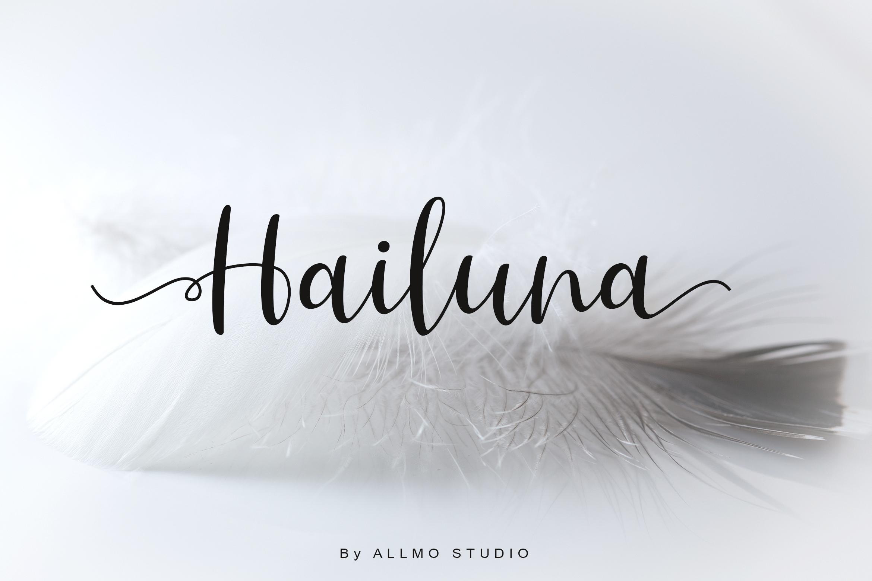 Hailuna Script example image 1