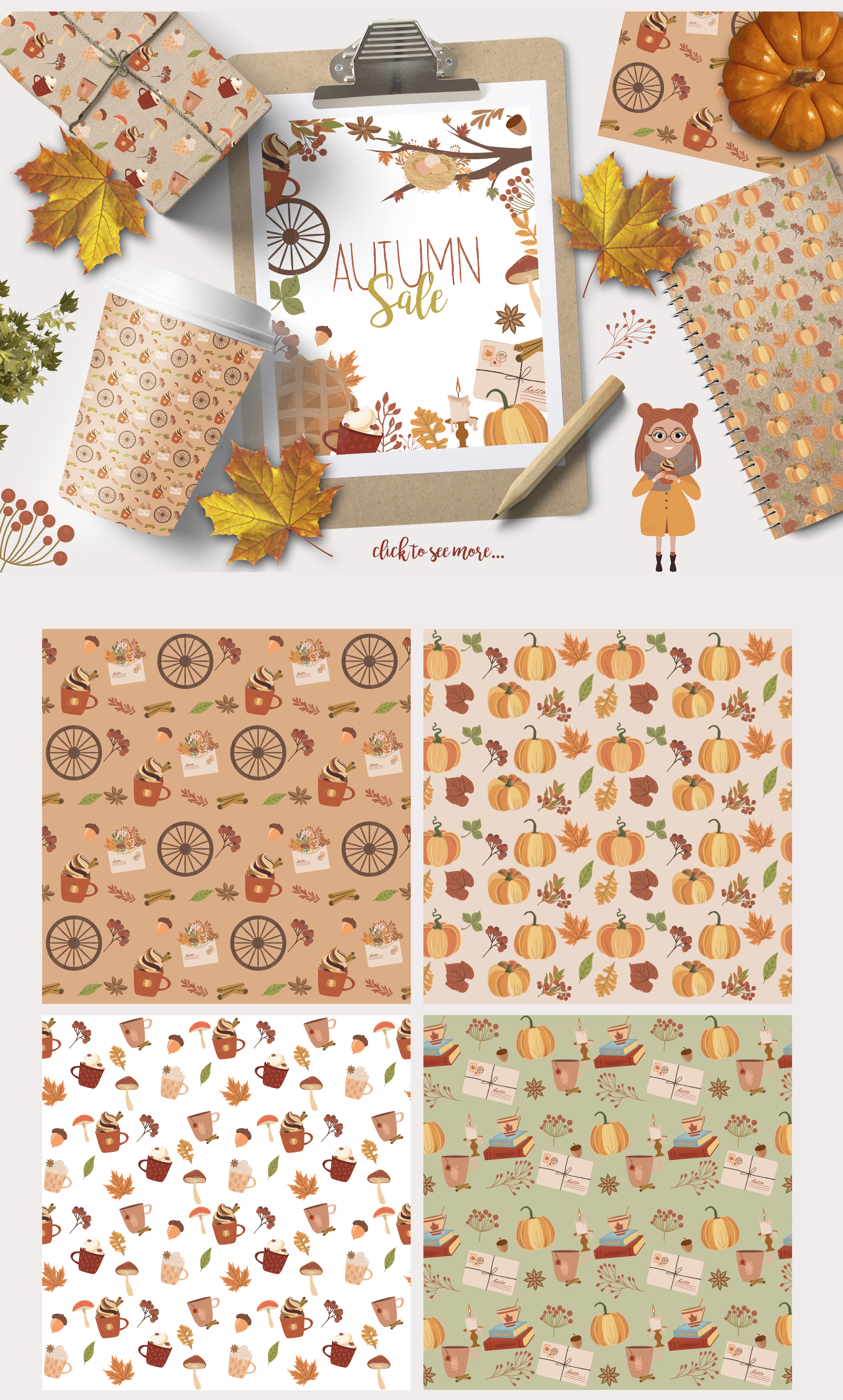 Autumn Dreams collection example image 4