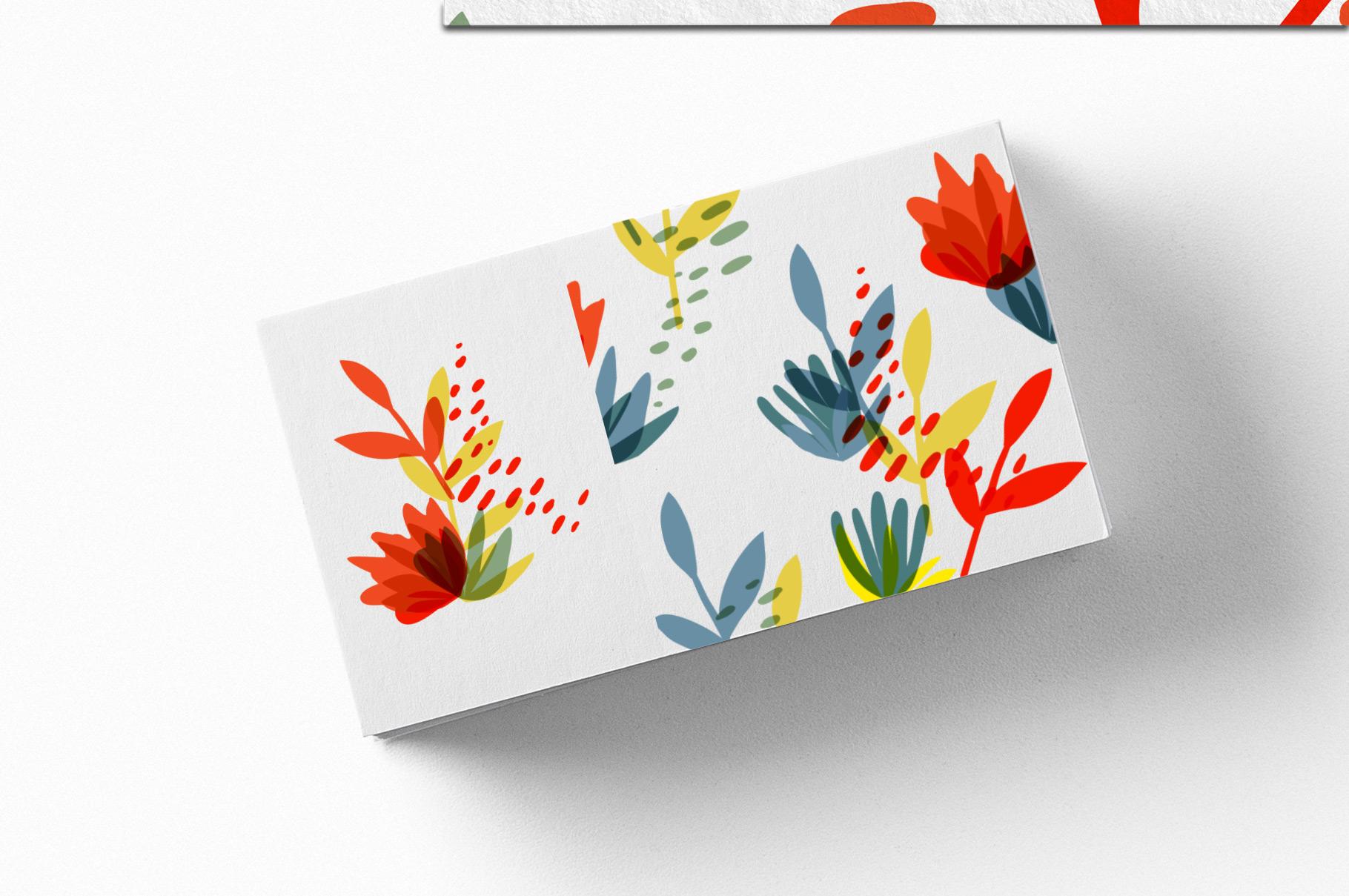 Botanical Basics Pattern Set example image 7