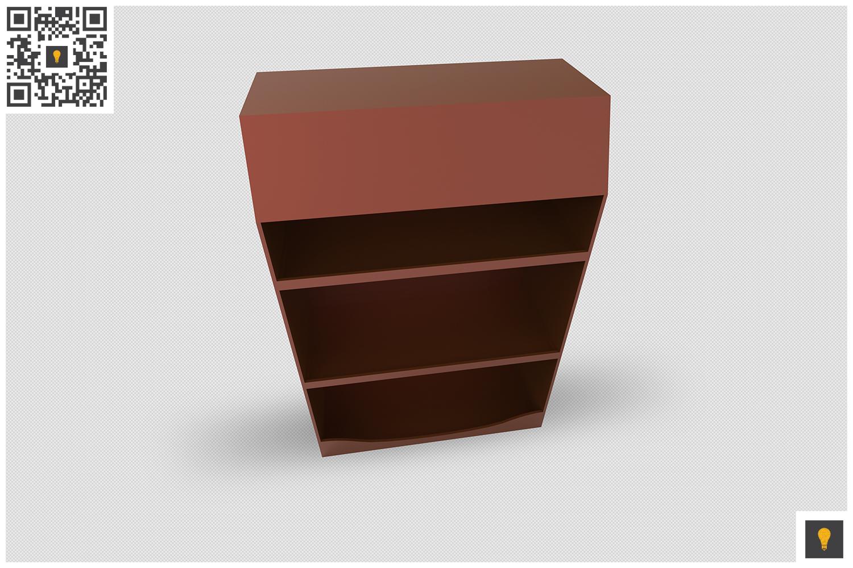 Promotional Shelf Display 3D Render example image 13