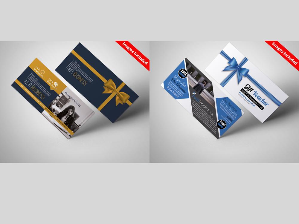 10 Business Vouchers Templates Bundle example image 3